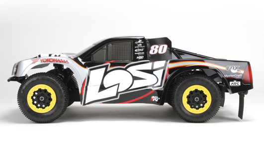 Losi XXX-SCT Brushless RTR,AVC:1/10 2WD SC Truck