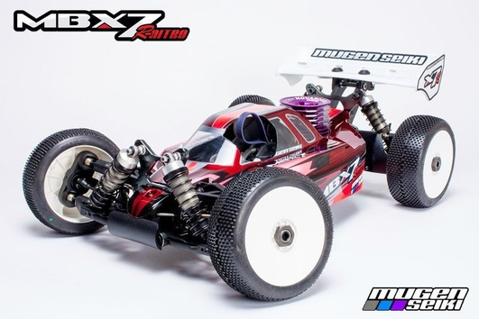 MBX-7R 1/8 4WD OFF-Road Buggy