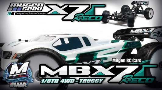 MBX-7T R ECO 1/8 4WD OFF-Road Elektro-Truggy
