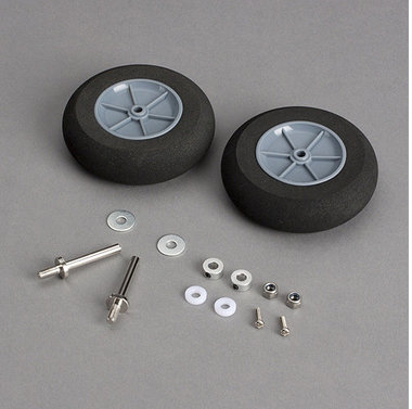 Main Wheels with Axles Cirrus SR22T 30cc