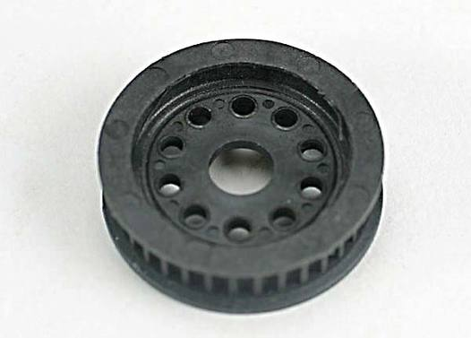 Molded differential pulley
