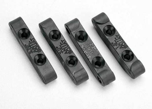 Mounts, suspension pin (rear anti-squat blocks) (1.5, 2.25, 3.0 & 3.75 degree) (1 each)