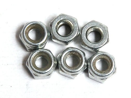 Nylon Lock Nut M3 6pcs
