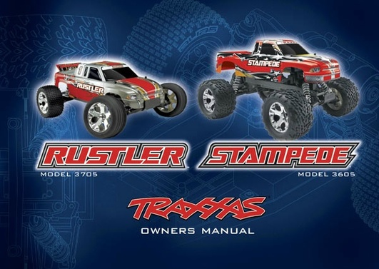 OWNERS MANUAL, RUSTLER & STAMP