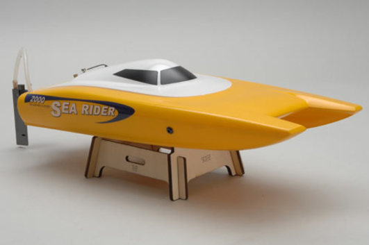 Offshore Sea Rider 2 brushless gelb 2.4 GHz 450 mm RTR