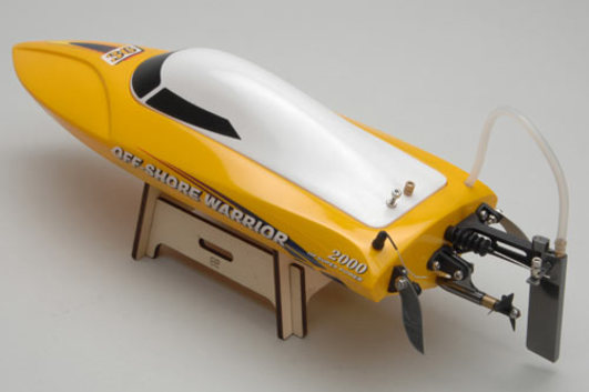 Offshore Warrior 2 brushless gelb 2.4 GHz RTR