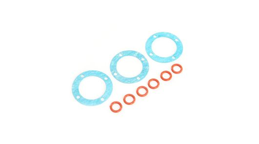 Outdrive O-rings & Diff Gaskets (3): 5ive-T 2.0