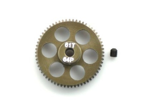 PINION GEAR  64P 61T 7075 HARD