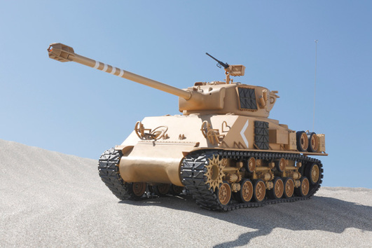 Panzer Super Sherman M-51 Full Option Kit Tamiya