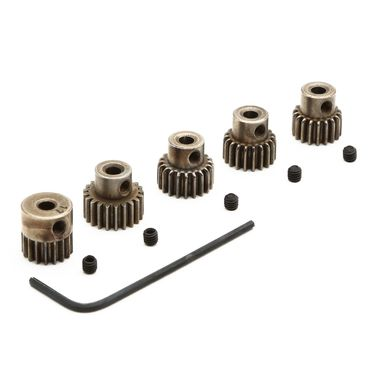 Pinion Gear Set: 17T. 18T, 19T, 20T, 21T x 48P