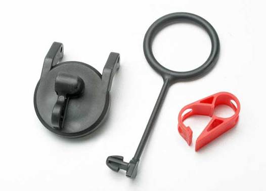 Pull ring, fuel tank cap (1)/ engine shut-off clamp (1)