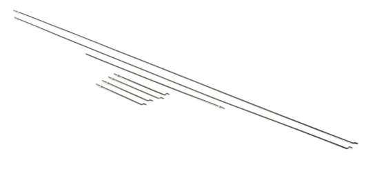 Pushrod Set: Carbon Cub 15cc