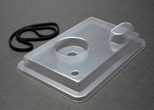 RADIO BOX LID (CLEAR)/ RUBBER