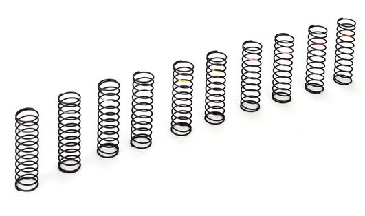 Rear Spring Set, Low Frequency (5 pair): 22/T/SCT