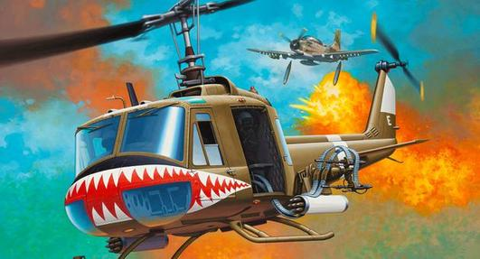Revell Bell UH-1 Huey 1:24