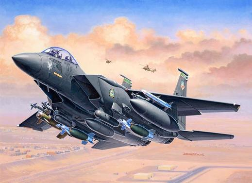Revell F-15E Strike Eagle und Bombs