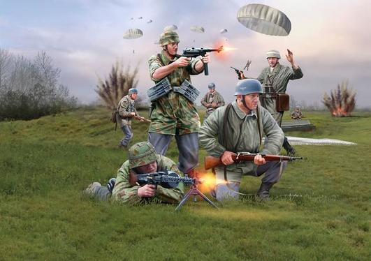 Revell GERMAN PARATROOPS (WWII)