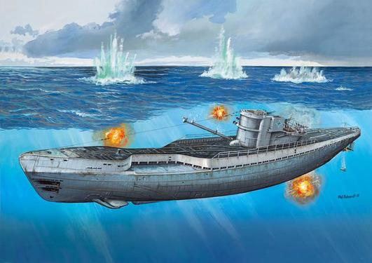 Revell German Submarine Type IX C/40