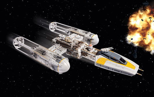 Revell Star Wars easykit Y-Wing Fighter