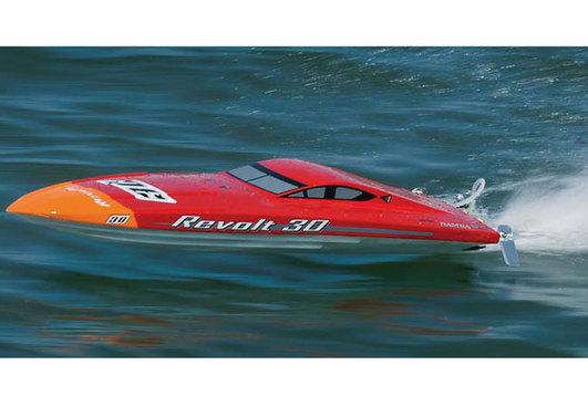 Revolt 30 Red/White RTR Aquacraft