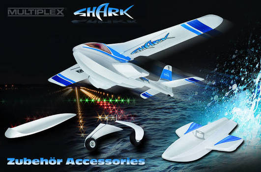 SHARK RTF Mode 1+3 1070 mm Multiplex