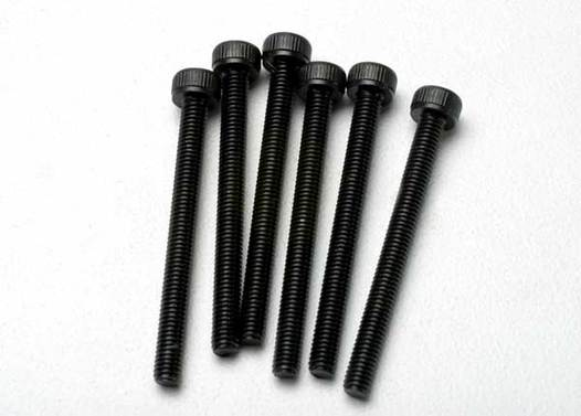 Screws, 3x32mm cap-head machine (hex drive) (6)