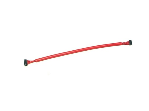Sensor cable 18cm soft Red