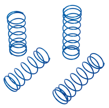 Shock Spring Set blue/hard (4pcs) - S10 BX