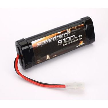 Speed Pack 5100mAh NiMH 6 Cell Flat