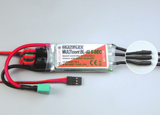 Speed controller Multicont BL-40 S-BEC