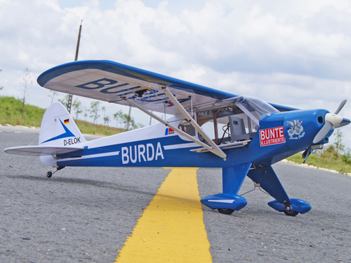 "Super Cub ""Burda Staffel"" ARF 1620 mm"
