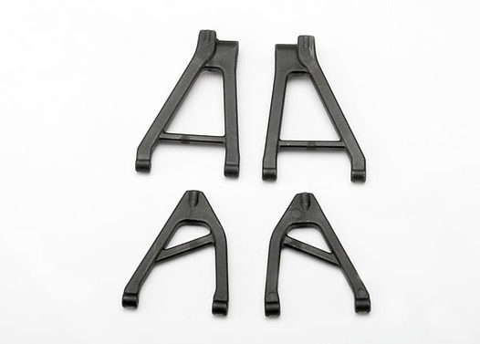 Suspension arm set, rear (includes upper right & left and  lower right & left arms) (1/16 Slash)