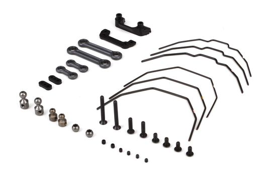 Sway Bar Kit, Front & Rear: 22-4