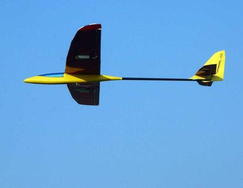 Swish Glider 1480 mm ARF orange