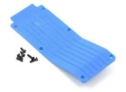T/E-Maxx 1.5 / 2.5 Center Skid/Wear Plate (Blue)