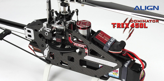 T-REX 450L Dominator Super Combo (6S) ohne Flybarless