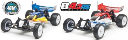 TEAM ASSOCIATED B4.2RS Brushless-2WD 1:10 Buggy RTR 2.4GHz