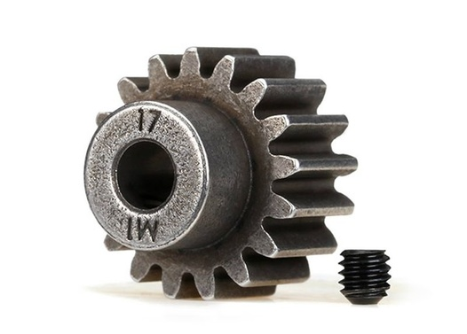 TRAXXAS (compatible with steel spur gears) Gear, 17-T pinion (1.0 metric pitch) (fits 5mm shaft)/ set s