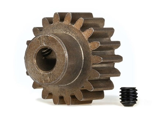 TRAXXAS (compatible with steel spur gears) Gear, 18-T pinion (1.0 metric pitch) (fits 5mm shaft)/ set s