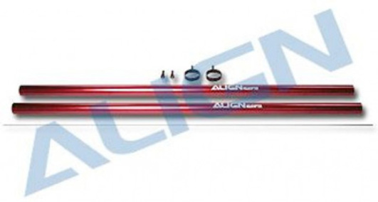 Tail Boom red T-Rex 600 Nitro 2 Pc