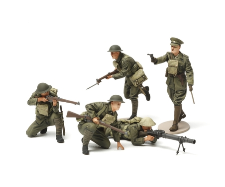 Tamiya 1:35 WWI British Infantrie Fig.-Set (5)