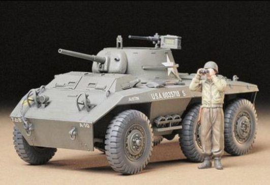 Tamiya 1:35 WWII US SpähPz M8 Greyhound (1)