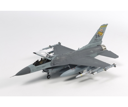 Tamiya 1:72 F-16CJ Fighting Falcon m.Zurüsttei.