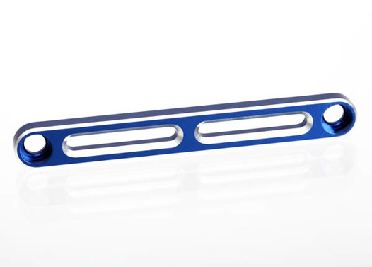 Tie bar, front, aluminum (blue-anodized)