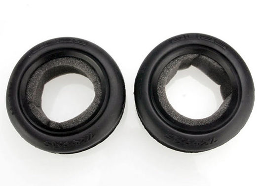 Tires, Alias ribbed 2.2  (wide, front) (2)/ foam inserts (Bandit) (soft compound)