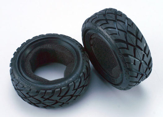 Tires, Anaconda 2.2  (wide, front) (2)/foam inserts (Bandit) (soft compound)