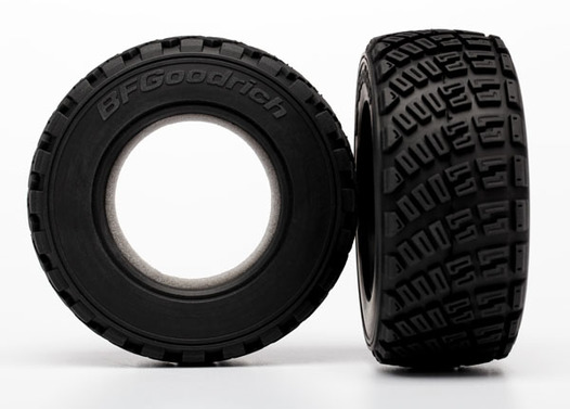 Tires, BFGoodrich Rally, gravel pattern (2)/ foam inserts (2)