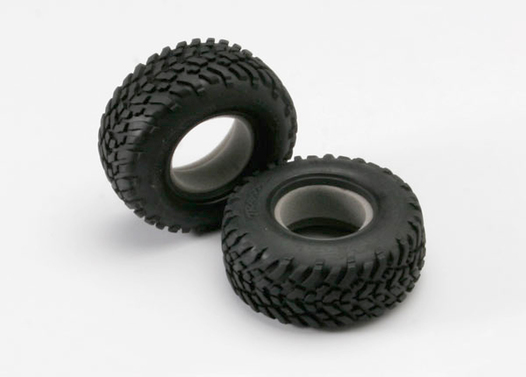 Tires, off-road racing, SCT dual profile 4.3x1.7- 2.2/3.0  (2)/ foam inserts (2)