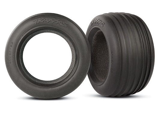 Tires, ribbed 2.8  (2)/ foam inserts (2)