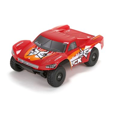 Torment 1/18th 4WD Short Course Truck Red/Orange RTR INT
